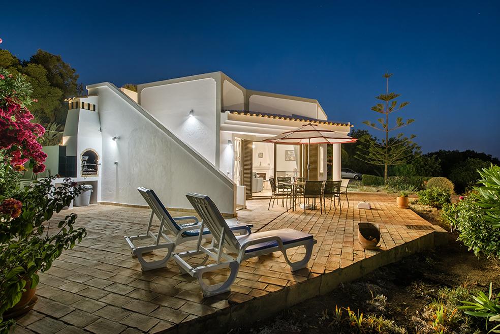 Villa Susana Terrace at Dusk